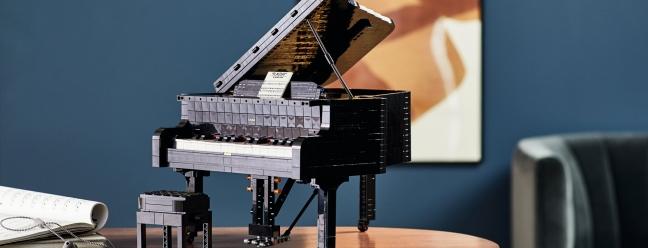 Новое пианино Lego Ideas может воспроизводить музыку через телефон — Geek Review