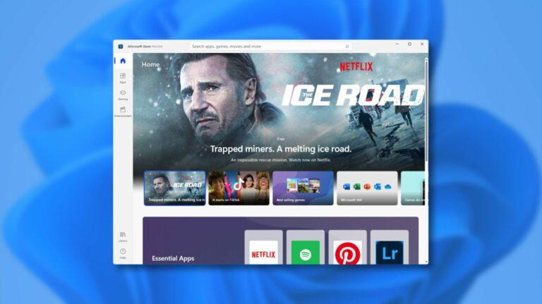 Как выглядит новый магазин Windows 11
