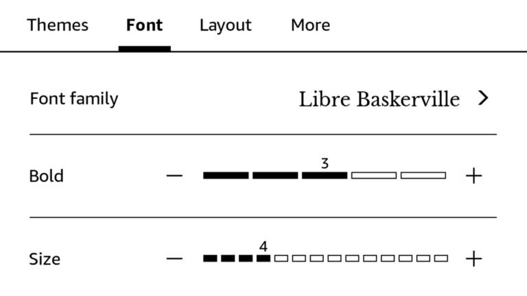 Как установить пользовательские шрифты на Kindle