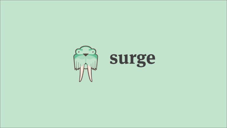 Как бесплатно развертывать статические веб-сайты с помощью Surge.sh — CloudSavvy IT