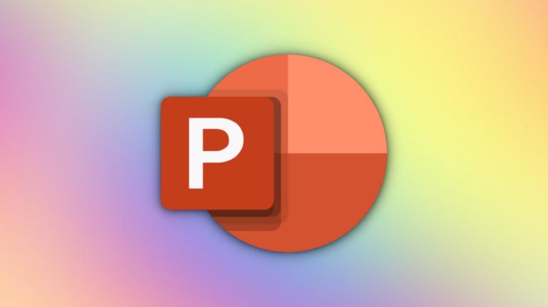 Как добавить многоцветный текст в PowerPoint