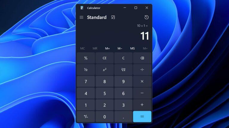 Приложение калькулятора Windows 11 содержит множество мощных функций