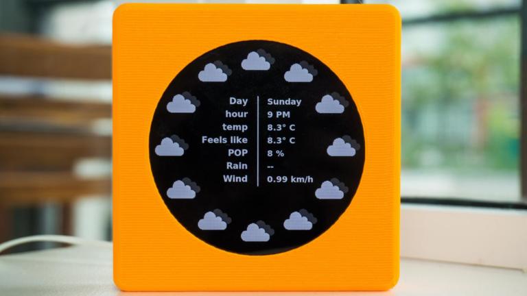 Эти часы с питанием от Raspberry Pi показывают погоду и время — Компьютерщик обзора