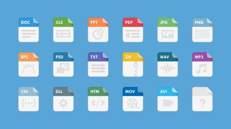 Что такое расширение файла?