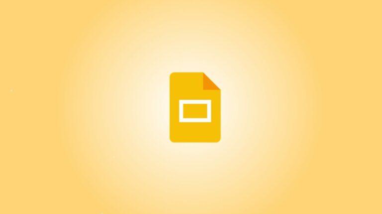 Как создать выступ в Google Slides