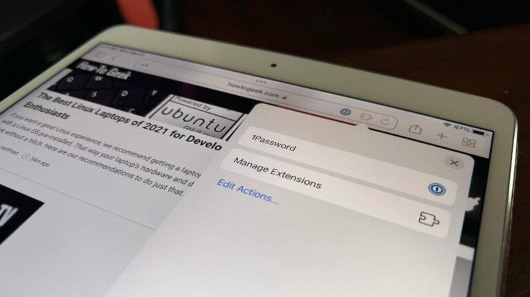 Как установить и использовать расширения Safari на iPhone и iPad