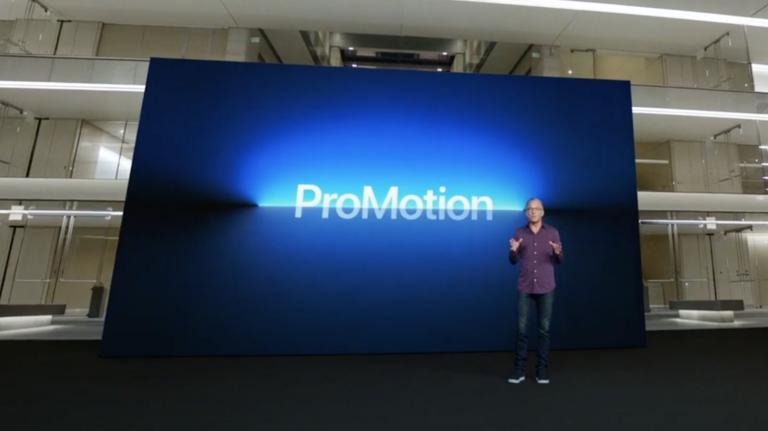 Что такое дисплей Apple ProMotion?