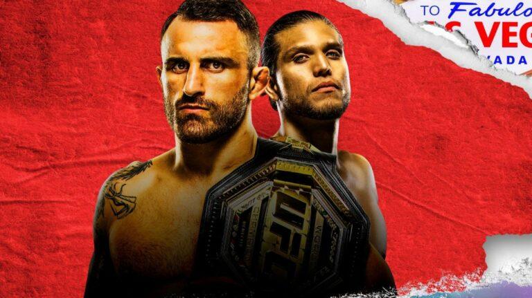 Как смотреть UFC 266 Volkanovski vs. Ortega в прямом эфире