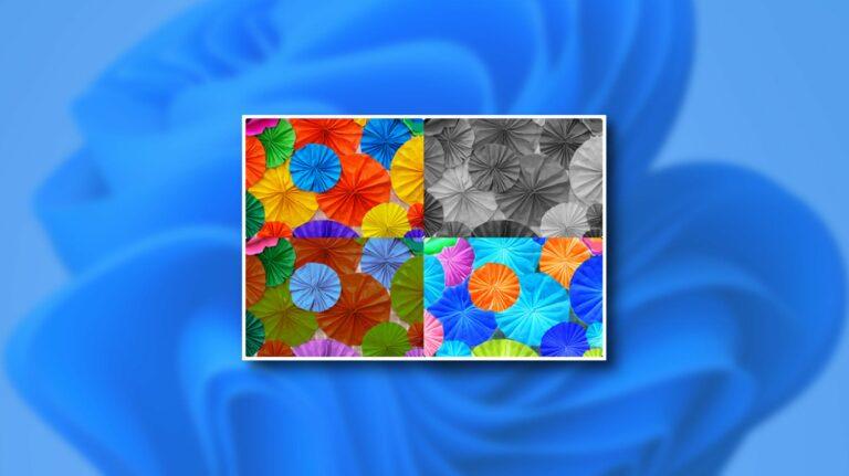 Как использовать цветные фильтры в Windows 11