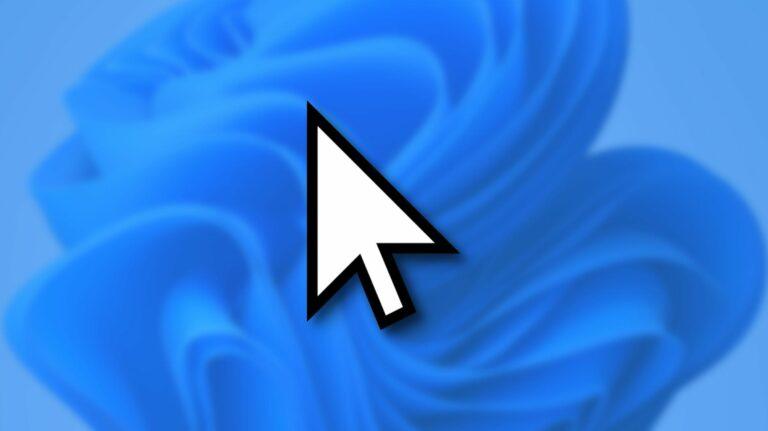 Как изменить размер и стиль указателя мыши в Windows 11
