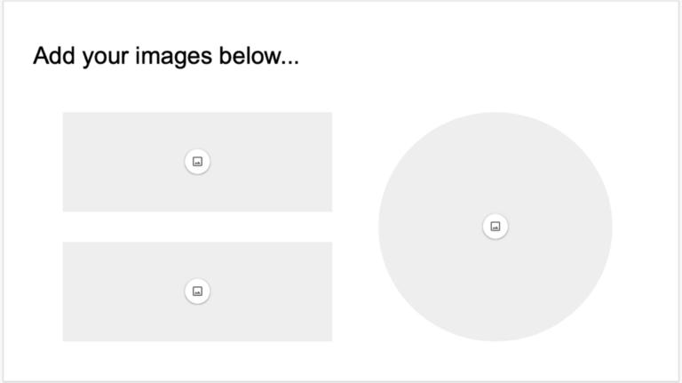 Как добавить заполнители изображений в Google Slides
