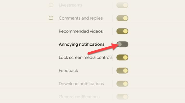 Как настроить уведомления для приложений Android