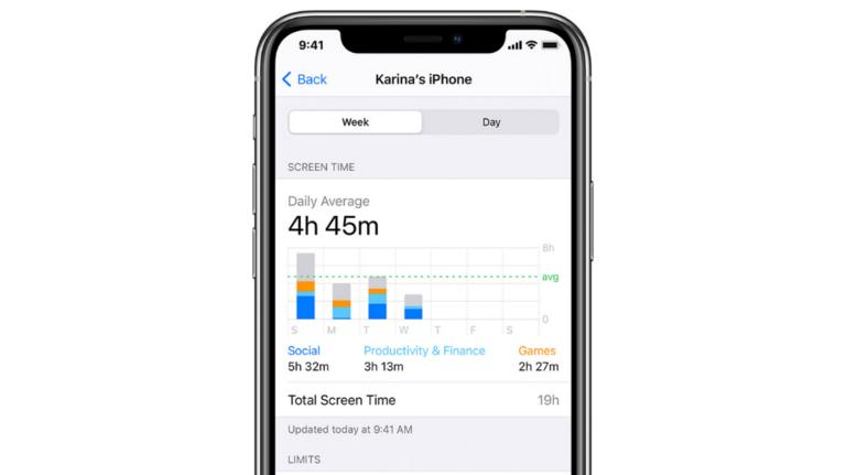 Как узнать время экрана на iPhone