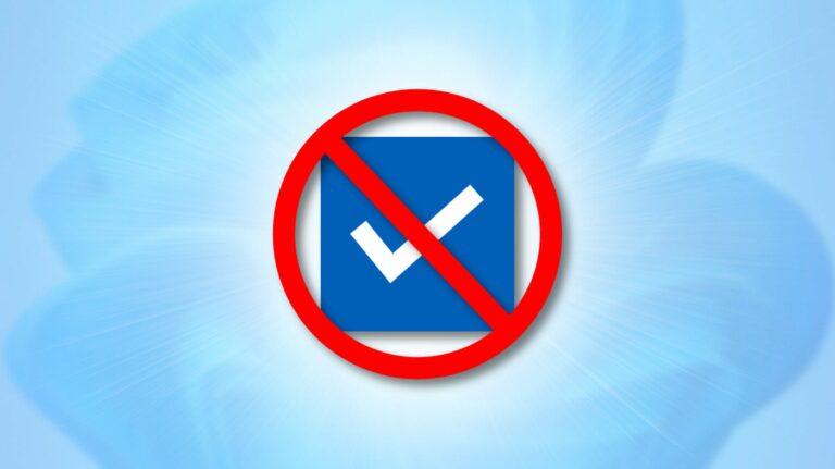 Как отключить флажки проводника в Windows 11
